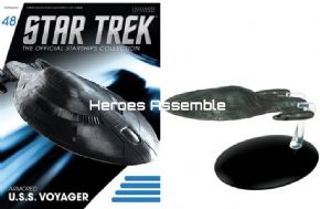 Star Trek Official Starships Collection #048 USS Voyager Armored Eaglemoss